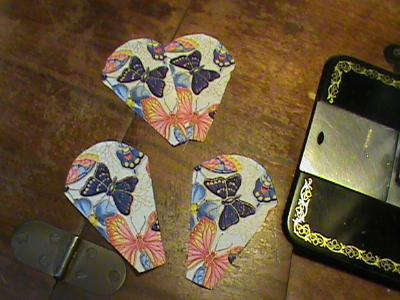 repeat butterfly fussy cuts dresden kaleidescope