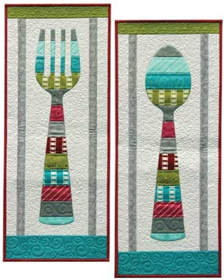 Wall Hanging Quilt Patterns wall hanging quilt pattern for a bon appetit – quilting cubby
