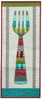wall hanging quilt pattern dining room