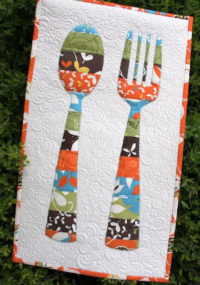 Quilted Wall Hanging Patterns wall hanging quilt pattern for a bon appetit – quilting cubby
