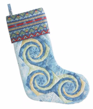 simply-amazing-spiral-quilts-for-this-christmas-stocking