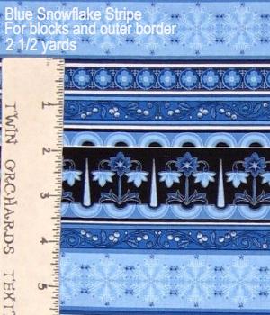 timeless-treasures-blue-geometric-snowflake-stripe