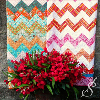 chevron-baby-quilt-in-bright-floral-fabric