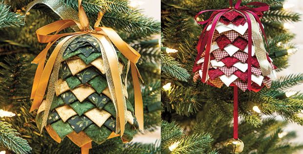 Silver Bells Christmas Ornament No Sew Anyone Can Make – Quilting ...