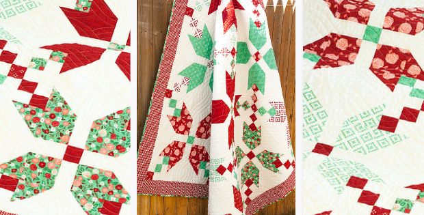 christmas quilt chain quilt pattern