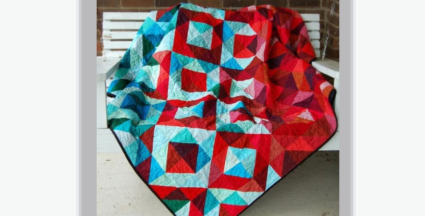 Quilt Patterns Quarter Square Triangles : Half Square Triangle Quilt Fat Quarter Bundles Of Colors Quilting Cubby