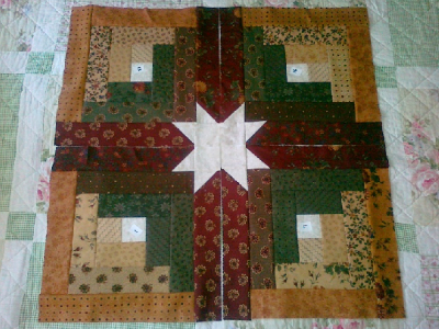 Timeless Log Cabin Quilt With Hidden Stars In The Sashing Quilting