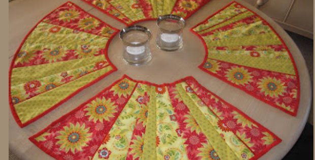 Round Placemats Round Placemats Made In India Set Of 4
