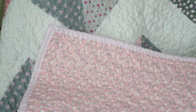 pink-floral-fabric-for-chevron-baby-quilt