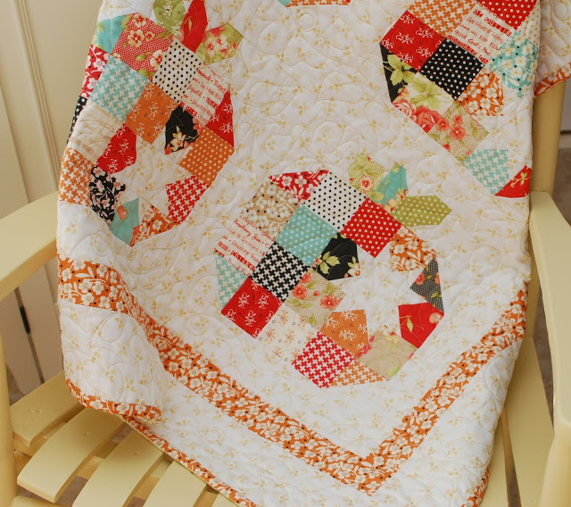 Pumpkin Seeds Quilt Sure To Dazzle – Quilting Cubby : pumpkin quilt patterns - Adamdwight.com
