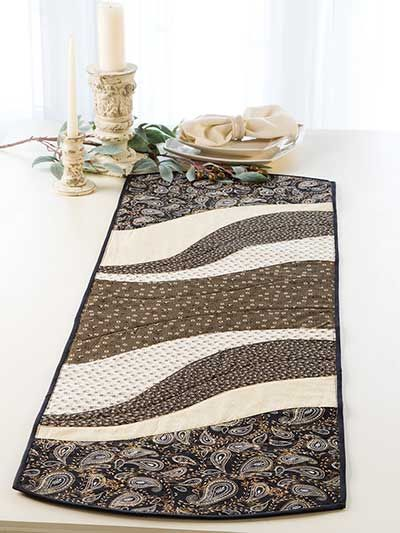 6 Fabric Ideas For The Most Versatile Table Runner – Quilting Cubby : easy breezy quilt pattern - Adamdwight.com