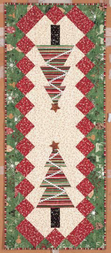 Free Pattern Christmas Quilt Table Runner : Christmas Table Runner Something New For Your Holiday Table Quilting Cubby