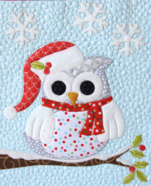 Owl Be Home For Christmas Table Topper To Warm Your Heart