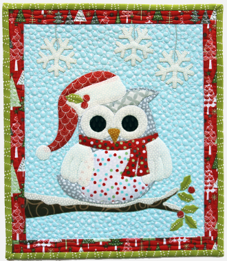 Owl Christmas Quilt