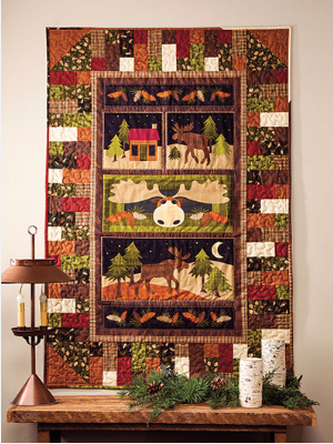 Reach For Your Panel Fabric As Christmas Draws Nigh – Quilting Cubby : christmas quilt panels - Adamdwight.com