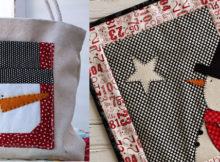 snowman-mug-rug-mini-quilt