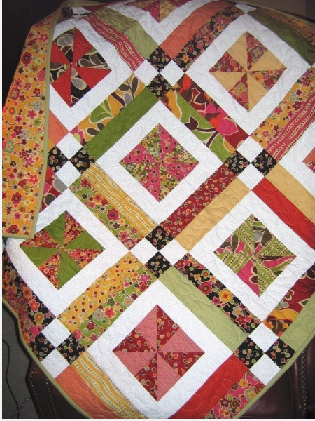 Lemonade Lollipop Layer Cake Quilt For Baby Giggles And