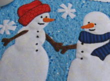 snowman-mug-rug-romance