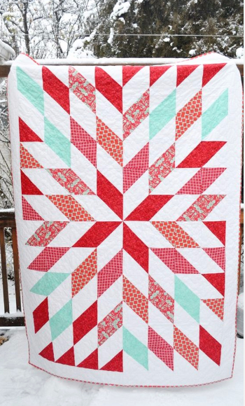Your Next Star Quilt Using Simple Half Square Triangles – Quilting ... : half square triangle quilt - Adamdwight.com