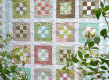 Jelly Roll quilt Menagerie