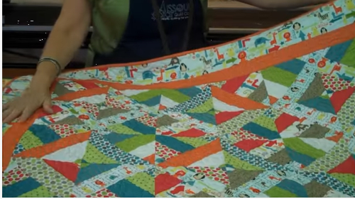 Jelly roll quilt Riley Blake jelly roll