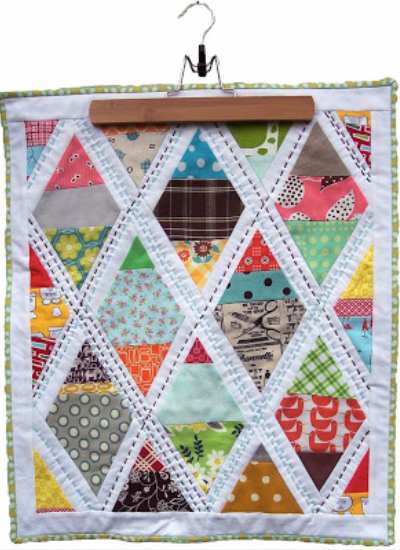 Lattice Doll Quilt Pretty In Patchwork