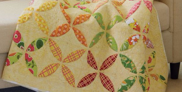 Orange Peel quilt Citrus Sizzler