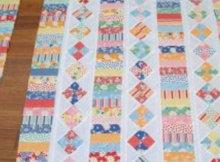 Schnibbles quilt Schnibbles Times Two scrap quilt
