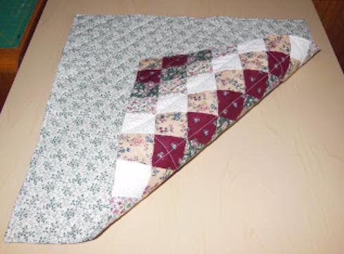 Trip Around The World quilt pattern backing ideas