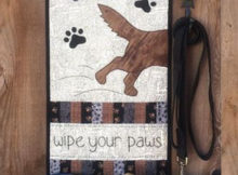 Wipe Your Paws quilt