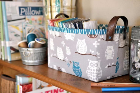 sewing basket for sewing acessories