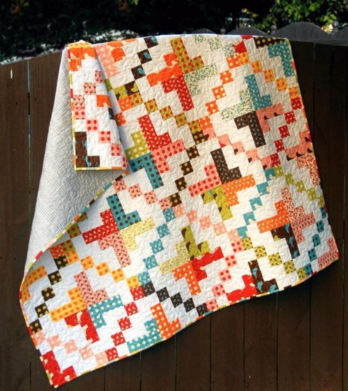 one jelly roll baby quilt