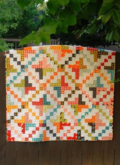 one jelly roll quilt for beginners