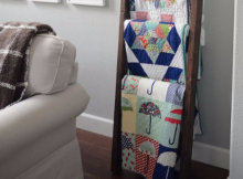 quilt ladder with four steps make it yourself