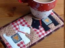 scottie dog mug rug