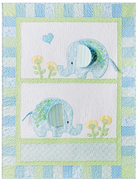 Bobo Elephants Baby Quilt To Charm The Socks Off Everyone ... : elephant quilt panel - Adamdwight.com