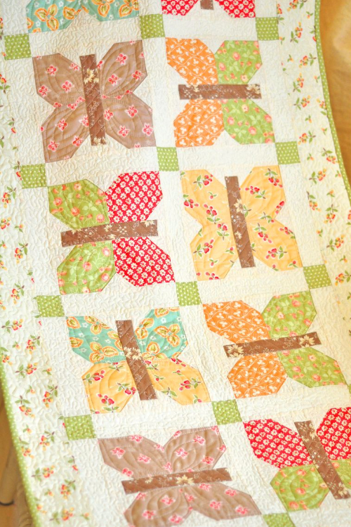 Well known Spring Butterfly Table Runner To Start The Season – Quilting Cubby XS65