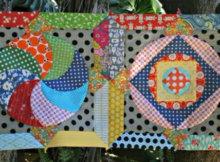 Circle Game quilt blocks Jenny Kingwell