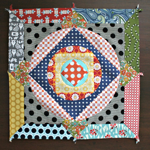 Circle Game quilt blocks