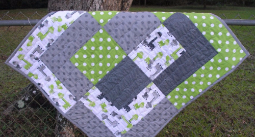 Bento Box Baby Quilt Size Up For Quick and Easy – Quilting Cubby : fabric for baby quilts - Adamdwight.com