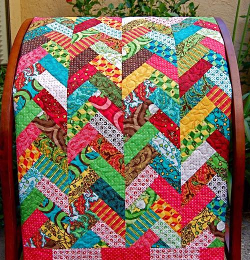 Jelly roll braided quilt Moda Nest – Quilting Cubby : braided quilt - Adamdwight.com