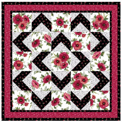 Showcase Your Poppies Or Favorite Floral Fabric With A