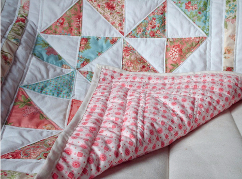 Easy Six Pinwheel Baby Quilt – Quilting Cubby : baby quilt backing - Adamdwight.com
