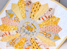 doll quilt Pretty In Patchwork Doll Quilts Cathy Gaubert