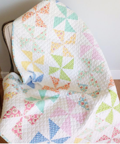 how to square up a quilt block pinwheels