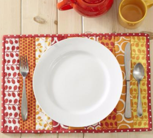 jelly roll placemat