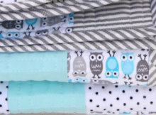 urban Zoology Owls Baby quilt