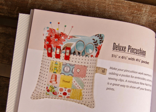 Deluxe pin cushion pattern with pocket