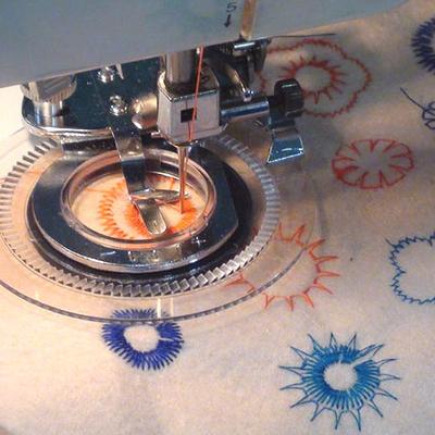Flower Stitch Presser foot universal