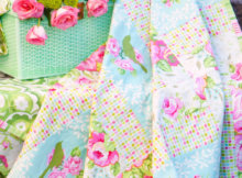 Garden District picnic quilt